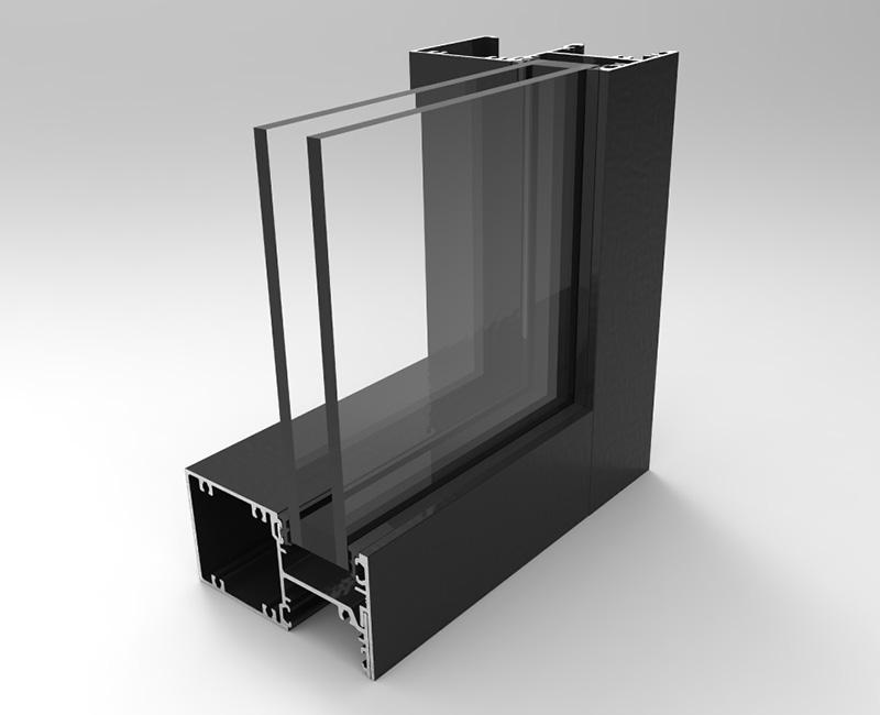 10055-DG Front Glazed