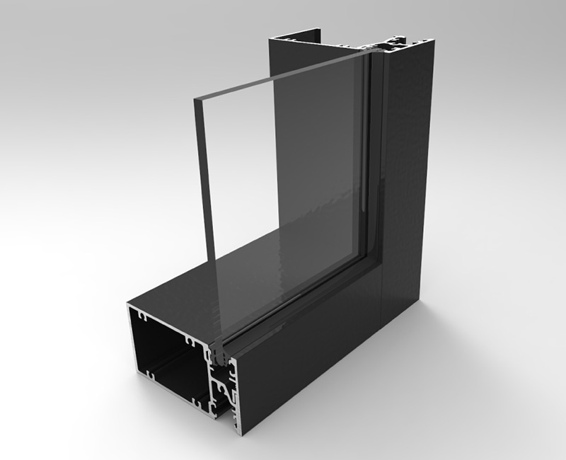 10055-SG Front Glazed