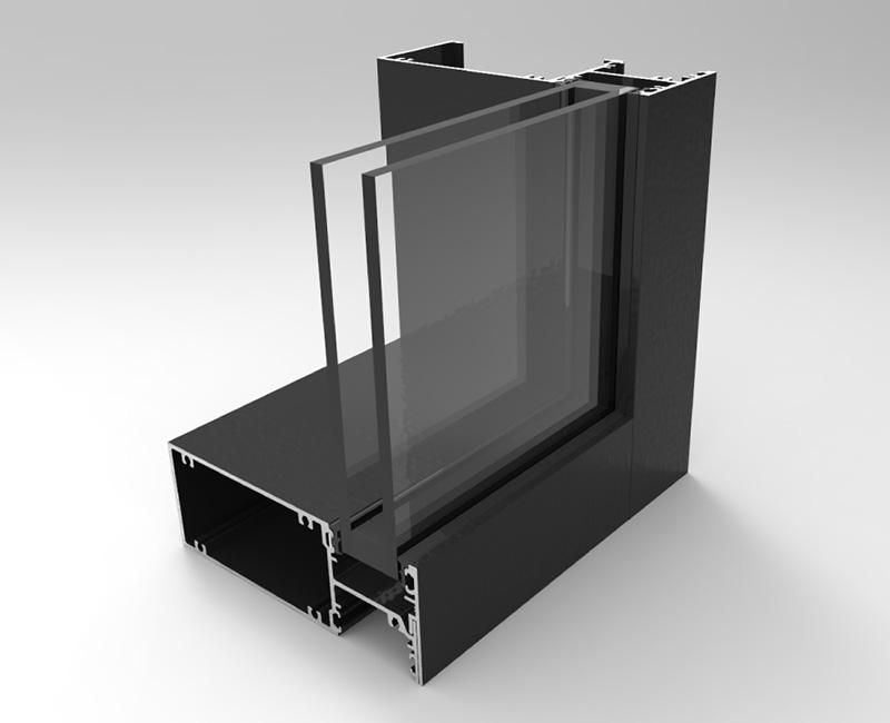 15055-DG Front Glazed